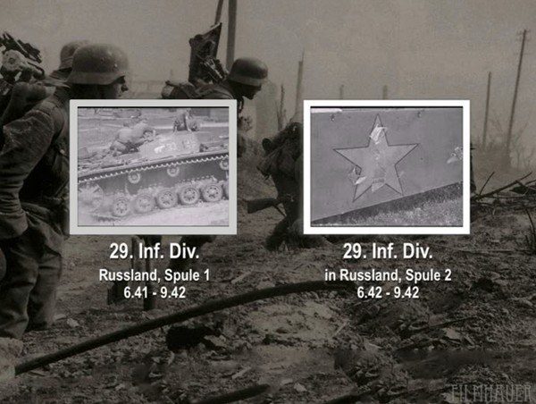 29. INF DIVISION IN RUSSLAND 6.41 - 9.42