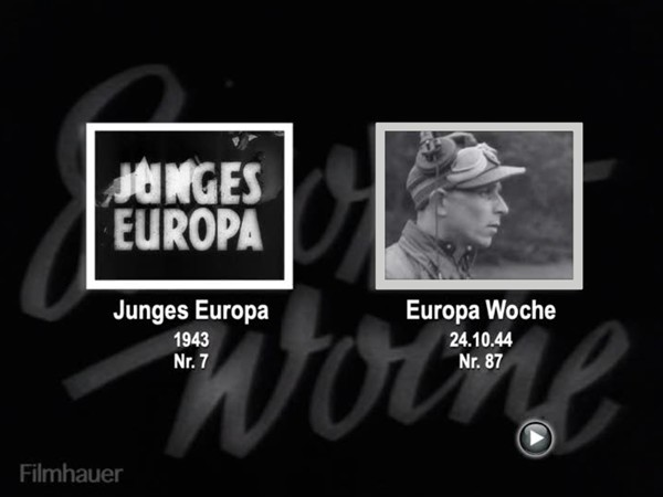 EUROPA WOCHE 1944 87 / 88 - JUNGES EUROPA Nr. 7