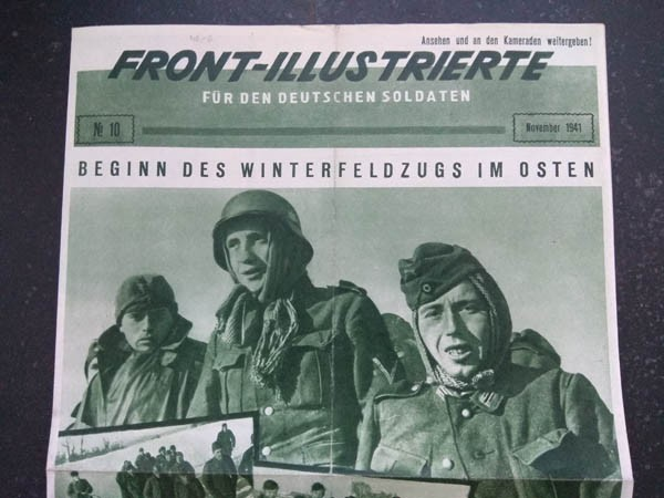 FRONT-ILLUSTRIERTE FOR THE GERMAN SOLDIER No. 10 Nov. 1941