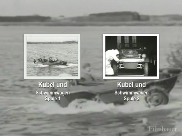 KUBEL AND SCHWIMMWAGEN TRAINING