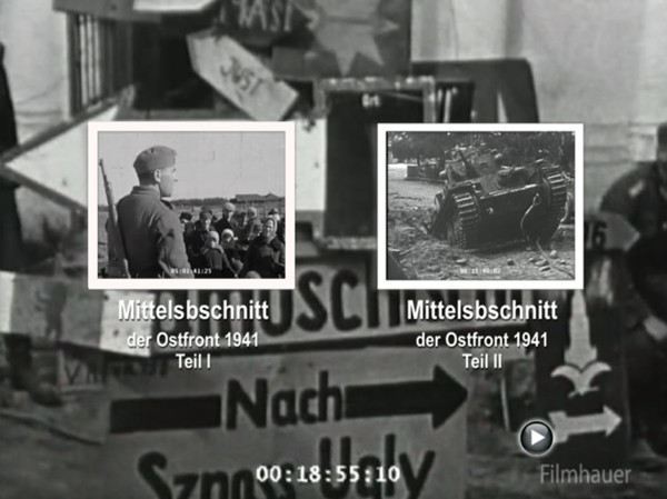 LOST WEHRMACHT FOOTAGE: ARMY GROUP CENTER 1941 Part I-III