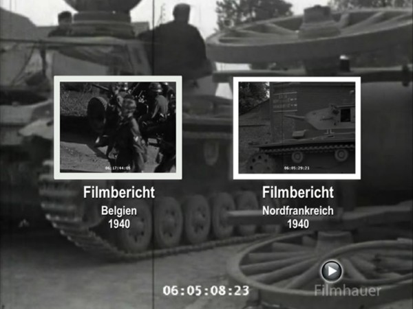 LOST WEHRMACHT FOOTAGE: FRANCE AND BELGIUM 1940