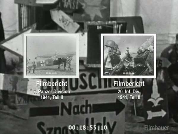 LOST WEHRMACHT FOOTAGE: 7th PzD Part 2 1941 - 20th INF DIV Part 2 1941