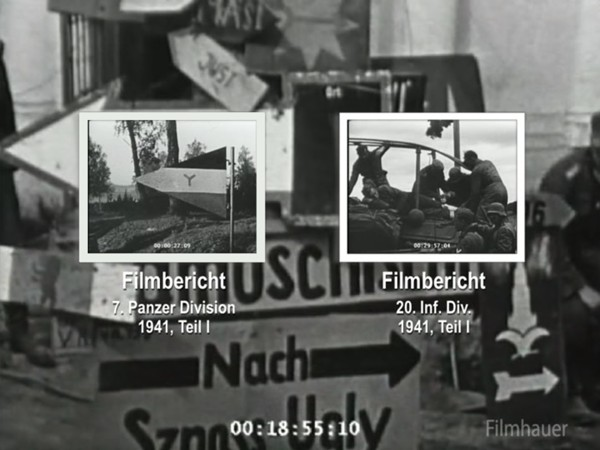 LOST WEHRMACHT FOOTAGE: 7th PzD Part 1 - 20th INF DIV Part 1 1941