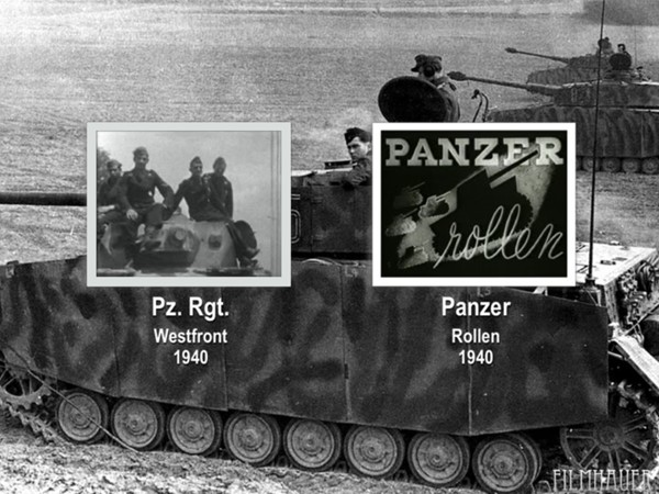 PANZER REGIMENT ON THE WEST FRONT 1940 - PANZER ROLLEN 1940