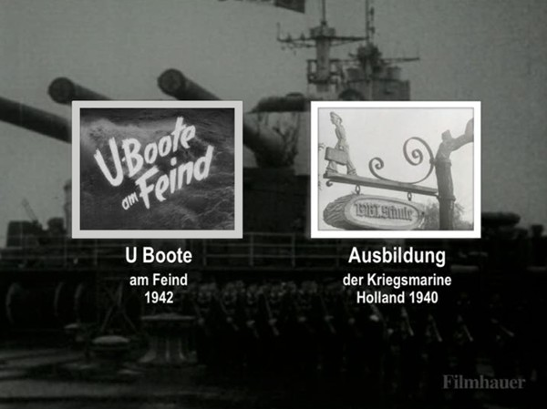 U BOOTE AM FEIND 1942 - TRAINING OF THE GERMAN NAVY 1940