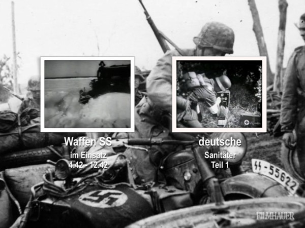 WAFFEN SS IN ACTION Part 3: 7.41-4.42 - GERMAN MEDICS TRAINING