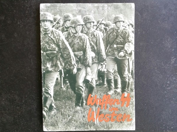 WAFFEN SS IM WESTEN - A Report in Photos 1941