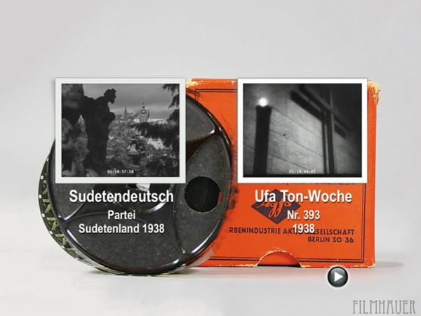 UFA TON-WOCHE 393 1938 - OCCUPATION OF AUSTRIA Reels 5 - SUDETEN GERMAN PARTY 1938