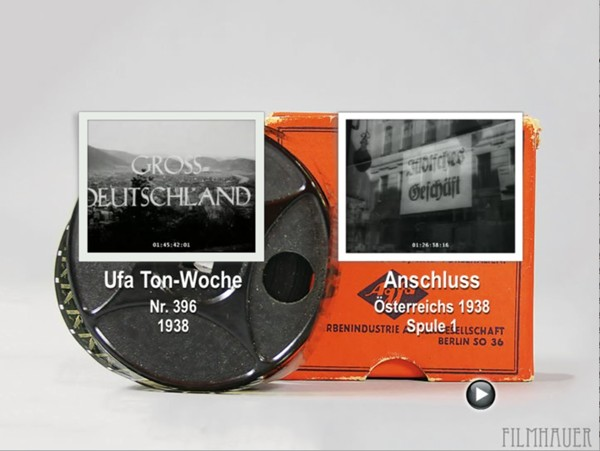 UFA TON-WOCHE 396 1938 - OCCUPATION OF AUSTRIA Reels 1-2